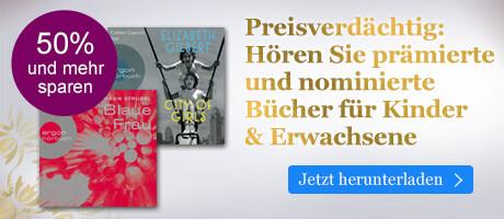 Preisverdächtig: Hören Sie prämierte und nominierte Bücher für Kinder & Erwachsene bei eBook.de