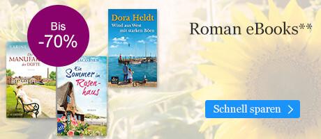 Entdecken Sie die Roman Schnäppchen im Summer SALE bei eBook.de