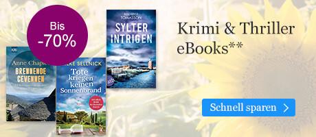 Krimi & Thriller eBooks reduziert