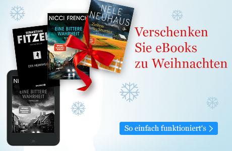 Verschenken Sie eBooks zu Weihnachten mit eBook.de