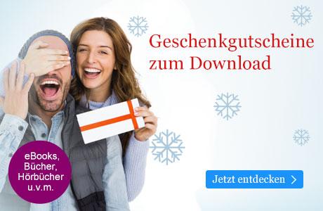 Geschenkgutscheine zu Weihnachten bei eBook.de