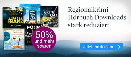Regionalkrimi Hörbuch Downloads reduziert bei eBook.de