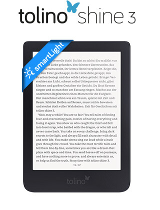 tolino shine 3 - Smarter Lesen im handlichen Format