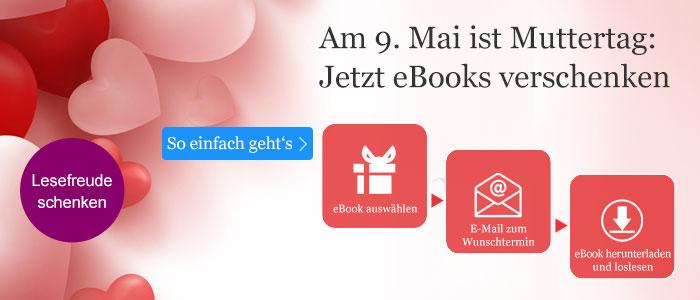 eBooks verschenken zum Muttertag mit eBook.de