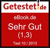 """eBook.de im Getestet.de-Einzeltest: Bestnote """"Sehr gut"""""""