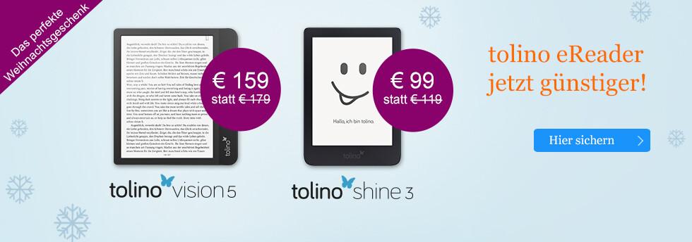 tolino eReader - die neue Generation bei eBook.de entdecken - jetzt günstiger