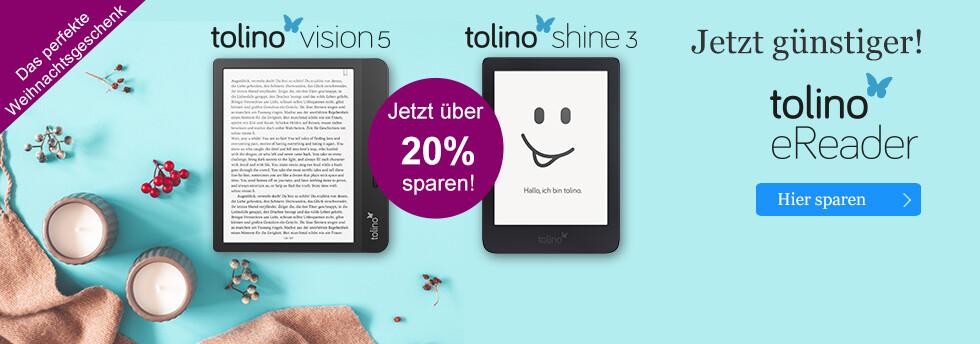 Das perfekte Weihnachtsgeschenk: tolino eReader - die neue Generation bei eBook.de