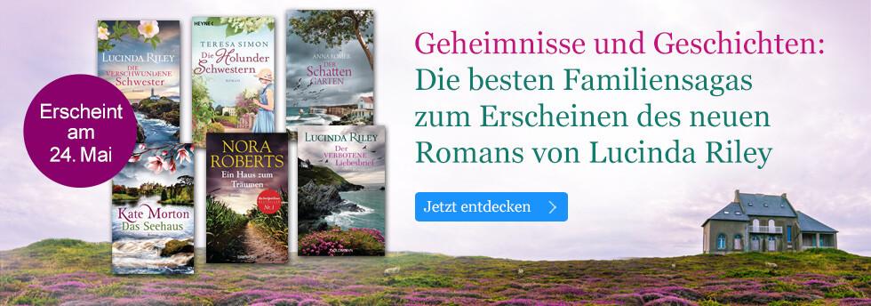 Geheimnisse und Geschichten: Die besten Familiensagas zum neuen Roman von Lucinda Riley bei eBook.de