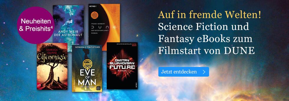 Auf in fremde Welten! Science Fiction und Fantasy eBooks bei eBook.de