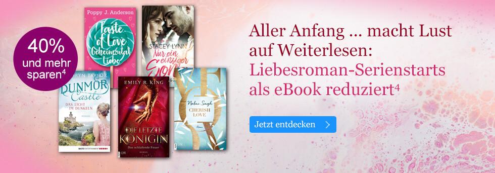 Aller Anfang ... macht Lust auf Weiterlesen: Serienstarts reduziert bei eBook.de