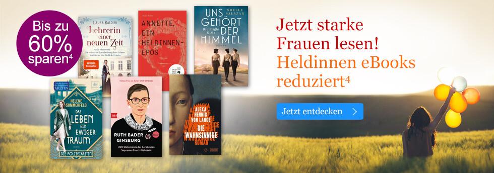 eBooks über und für starke Frauen reduziert bei eBook.de