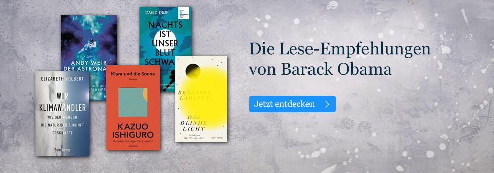 Die Lese-Empfehlungen von Barack Obama: Die Summer Reading List bei eBook.de