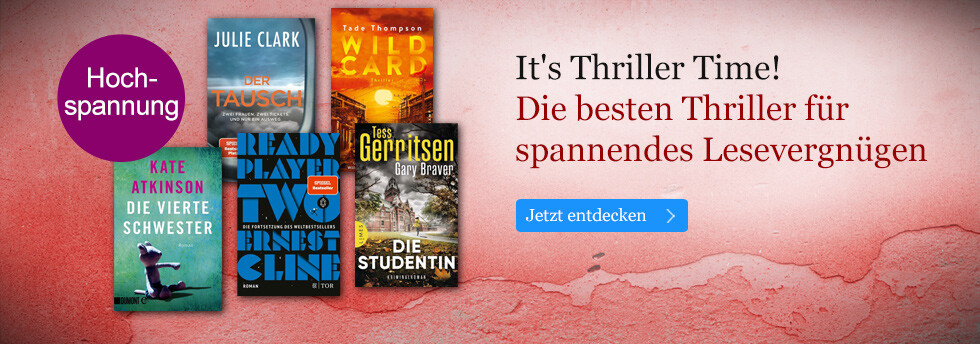 Thriller Time! Neue eBooks für Spannungs-Fans bei eBook.de