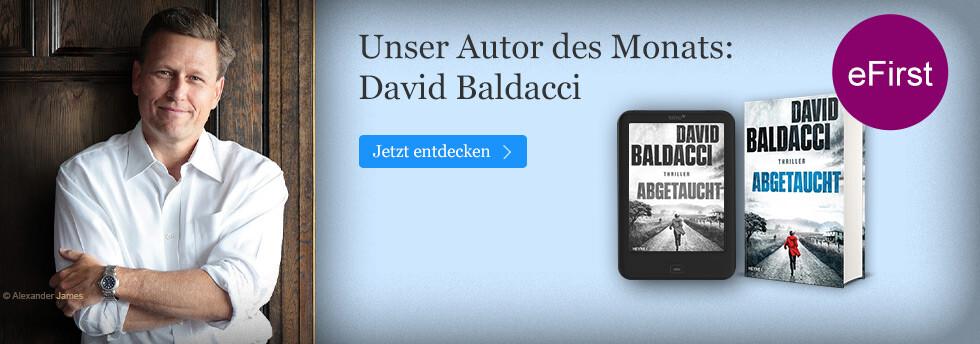 Autor des Monats Juli bei eBook.de: David Baldacci