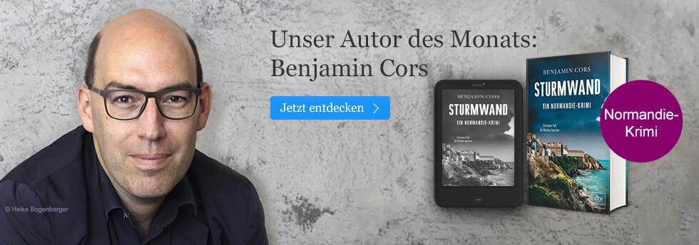 Unser Autor des Monats bei eBook.de: Benjamin Cors