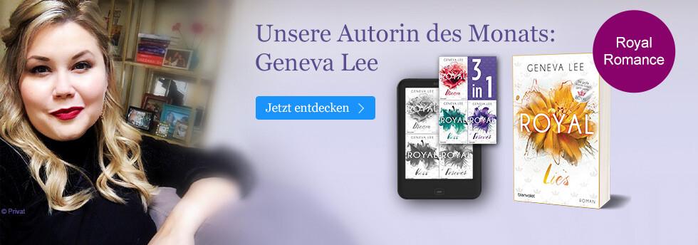 Unsere Autorin des Monats: Geneva Lee