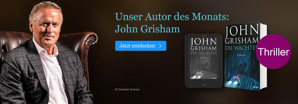 Unser Autor des Monats: John Grisham