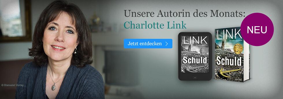 Unsere Autorin des Monats: Charlotte Link
