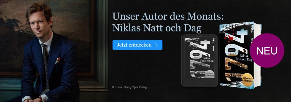 Unser Autor des Monats Januar bei eBook.de: Niklas Natt och Dag