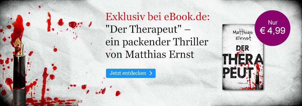 Exklusiv bei eBook.de: Der Therapeutvon Matthias Ernst