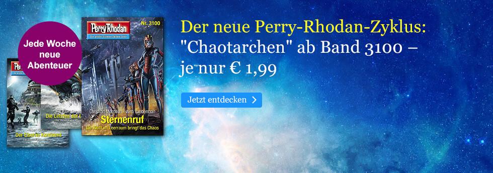 Der neuer Perry Rhodan-Zyklus Chaotarchen bei eBook.de
