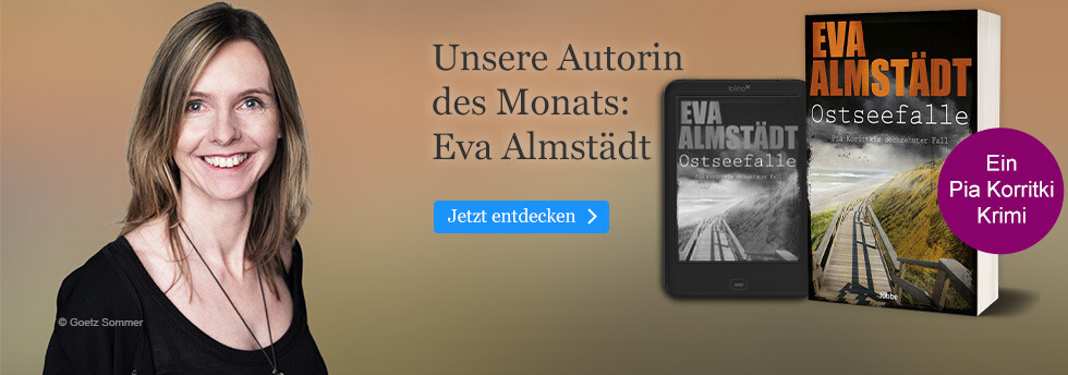 Unsere Autorin des Monats bei eBook.de: Eva Almstädt