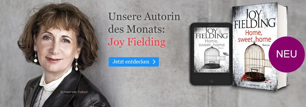Unsere Autorin des Monats: Joy Fielding