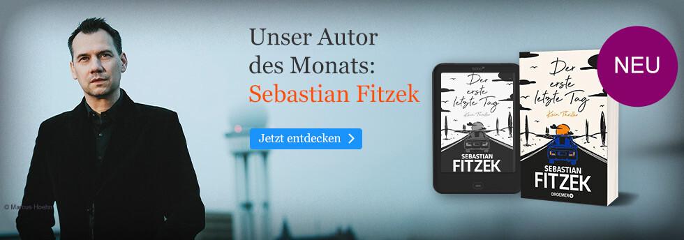 Unser Autor des Monats: Sebastian Fitzek
