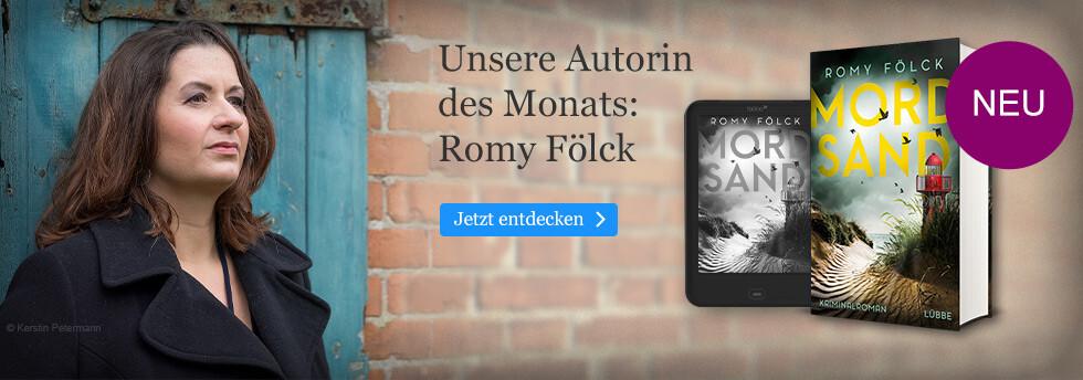 Unsere Autorin des Monats: Romy Fölck bei eBook.de