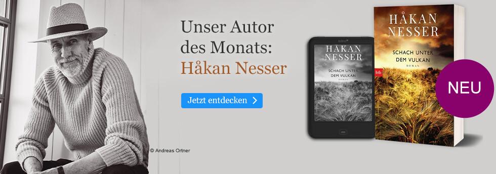 Unser Autor des Monats: Hakan Nesser