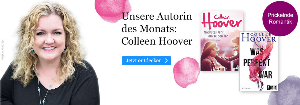 Autorin des Monats November bei eBook.de: Colleen Hoover