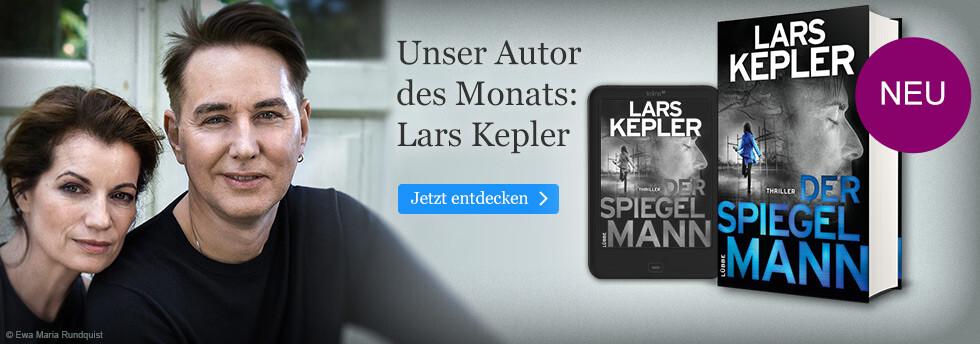 Autor des Monats bei eBook.de: Lars Kepler