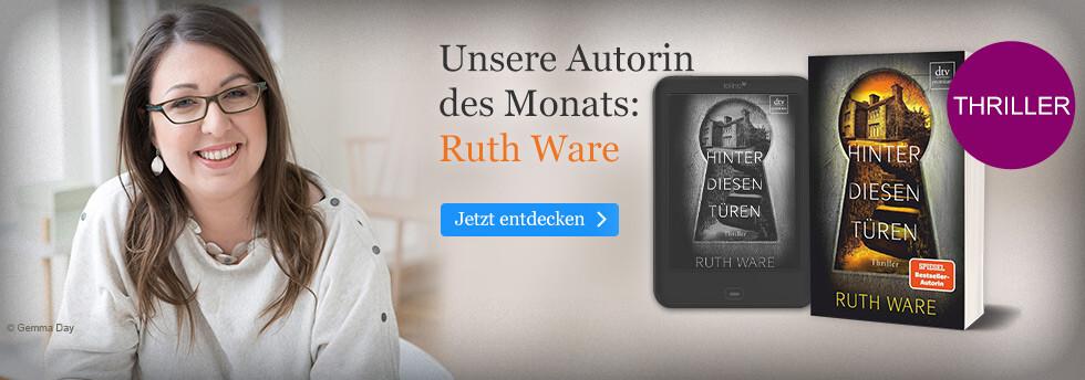 Unser Autorin des Monats: Ruth Ware