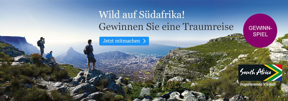 Gewinnspiel bei eBook.de: Wild auf Südafrika!