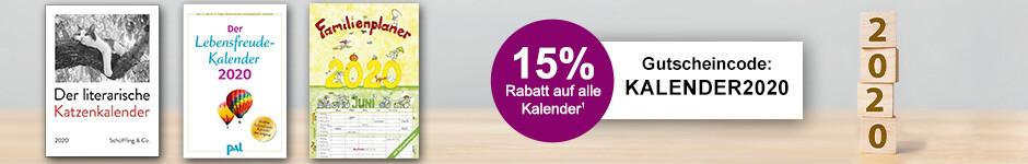 15% Rabatt auf Kalender