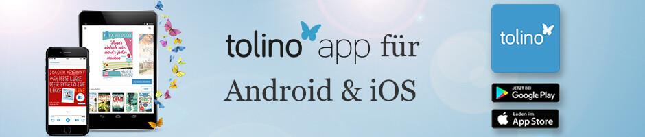 Die tolino app zum kostenlos Herunterladen!