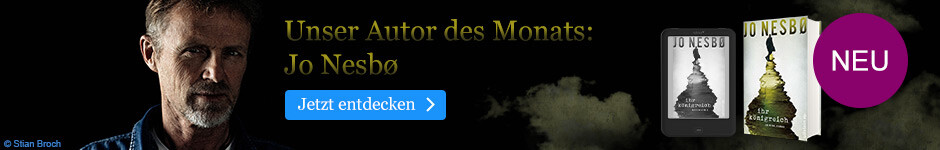 Autor des Monats September bei eBook.de: Jo Nesboe