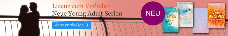 Lizenz zum Verlieben - beliebte Young Adult-Serien bei eBook.de