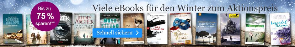 eBooks zum Aktionspreis für Ihre Winter-Lektüre bei eBook.de
