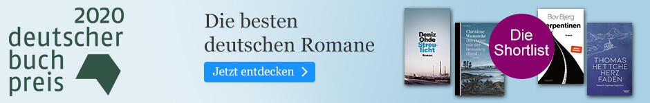 Deutscher Buchpreis - Die Shortlist