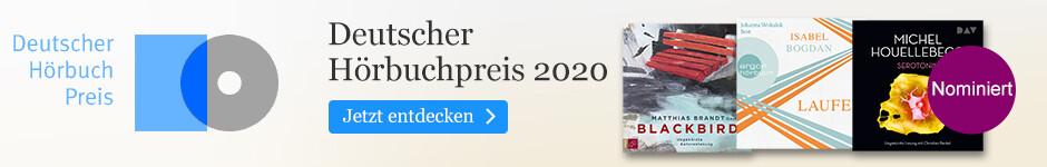 Die besten Hörbücher: Deutscher Hörbuchpreis 2020 bei eBook.de