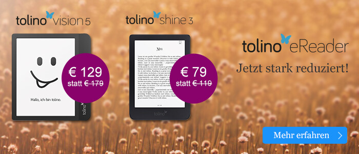Stark reduzierte eReader: tolino vision 5 & tolino shine 3